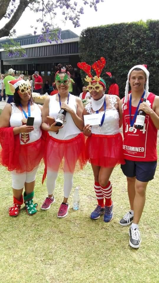 Santa Run brings funds and awareness